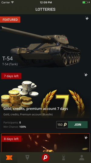 Wottery Win Gold for World of Tanks on the App Store
