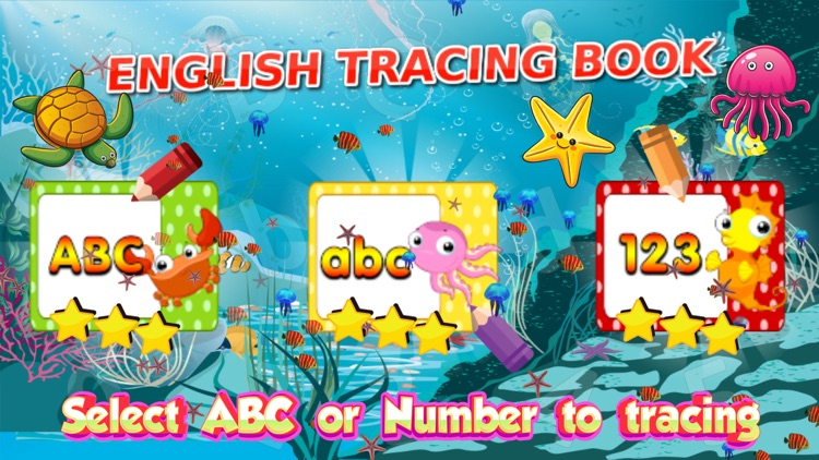 ABC letter tracing and writing for preschool