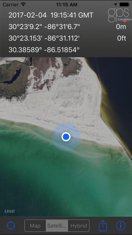 GPS Location screenshot-4