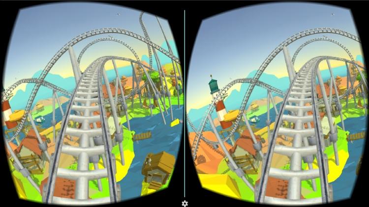 Roller Coaster VR Island for Google Cardboard screenshot-3