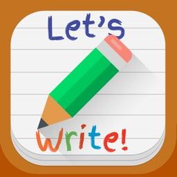 Let's Write - iPad Edition