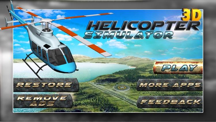 Flight Pilot Helicopter Game 3D: Flying Simulator screenshot-4