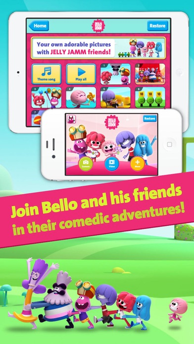 Jelly Jamm 2 Screenshot on iOS