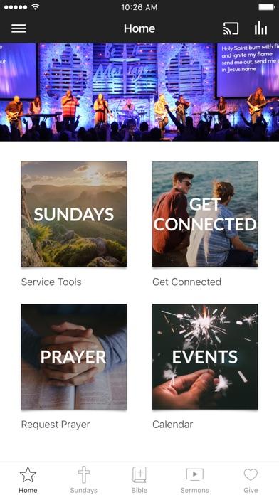 The Rock Community Church screenshot 1