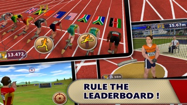 Athletics: Summer Sports (Full Version) screenshot for iPhone