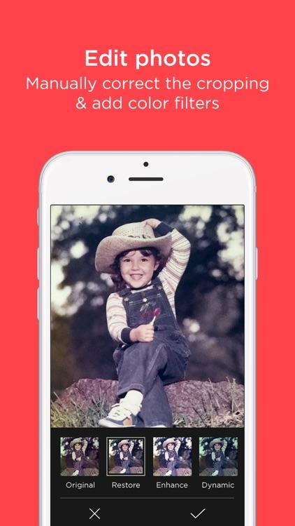 Scanner App by Photomyne: Scan & Auto-Crop Photos screenshot-3