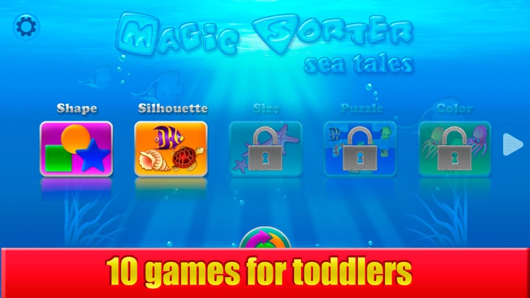 Magic Sorter Lite for toddlers