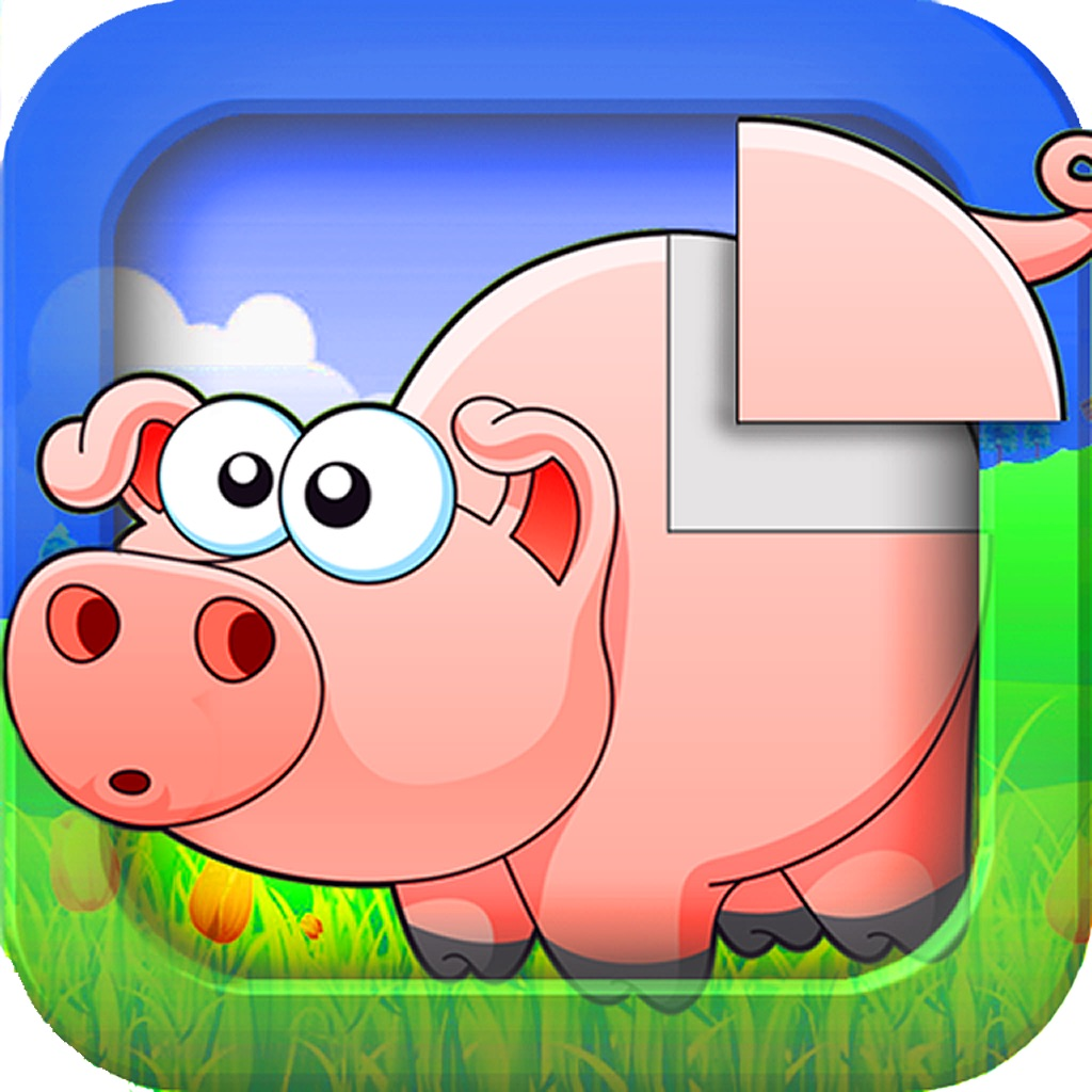 Animal sounds puzzle for kids hack