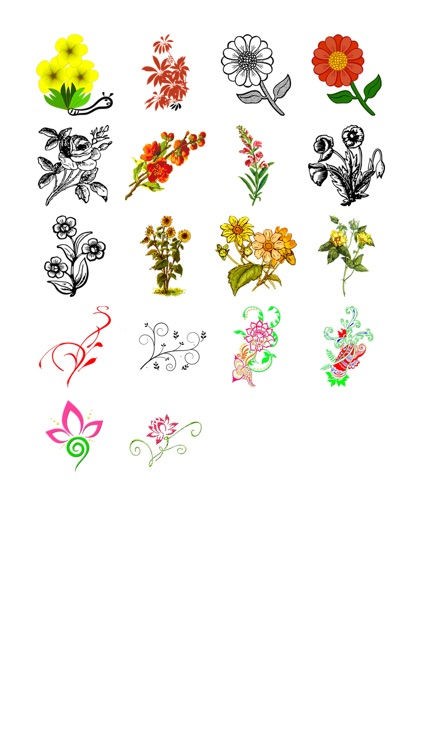Flora Sticker Pack!