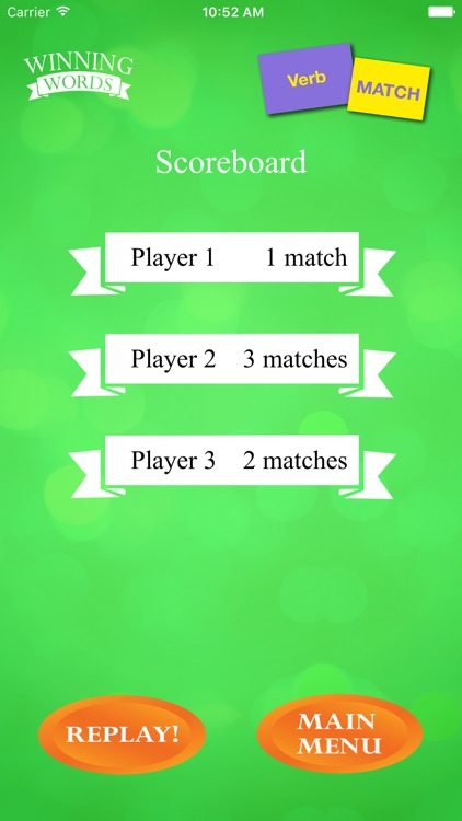 Verb Match screenshot-4
