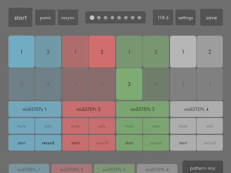 midiSTEPs - midi step sequencer toy screenshot-4