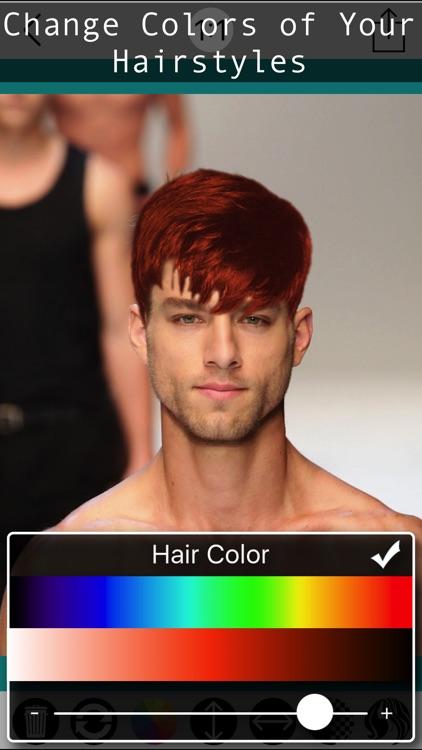 Male Hair Photo Editor - Macho