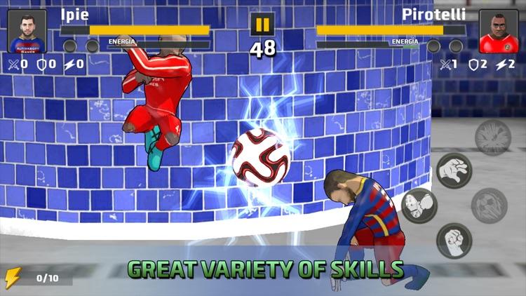 Soccer Hero Free Fighting Game screenshot-0