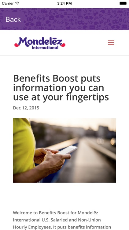 Benefits Boost - MDLZ (Mondelēz) - BenefitsBoost