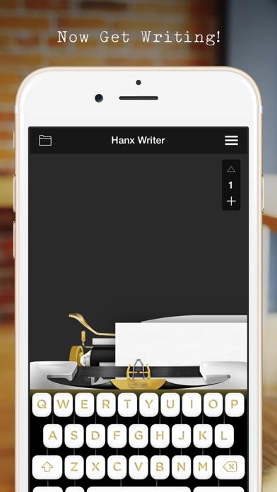 Hanx Writer iPhone