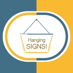 Hang a Sign! II (Dull Blue/Yellow)