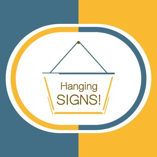Hang a Sign! II (Dull Blue/Yellow)