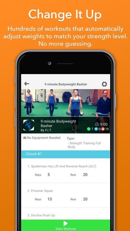 Updown Fitness - Gym & Home Personal Workout Coach
