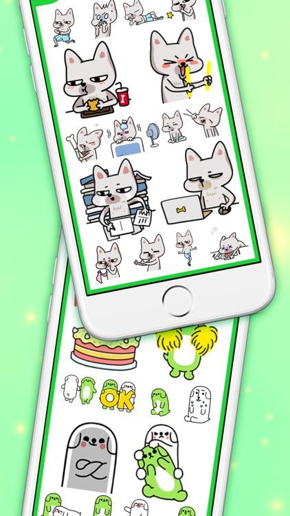 DogsMoji - Animated Dogs for iMessage & WhatsApp screenshot-3