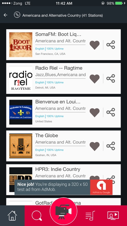 Americana and Alternative Country Radio