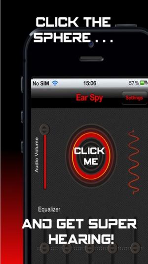 Spy hearing app