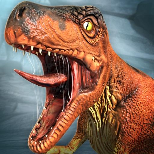 ディノ シミュレータ . 無料 ジュラ紀 恐竜 レース ゲーム