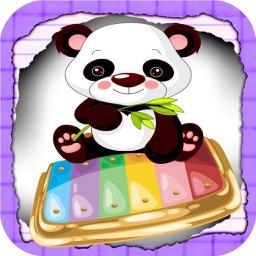 Panda Babies Xylophone Free