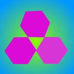 六边形消除-休闲益智烧脑游戏,好玩停不下来!