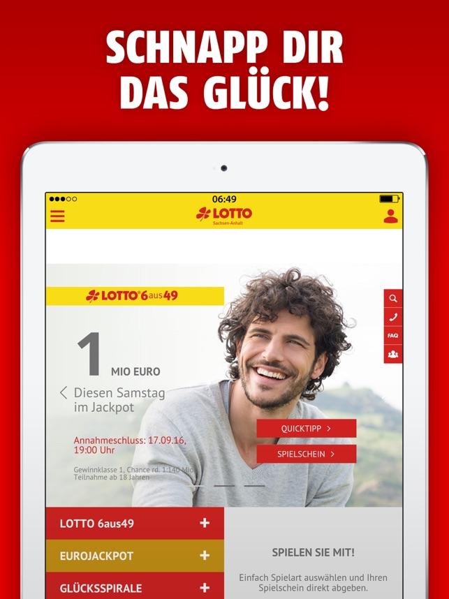 Lotto sachsen anhalt online dating