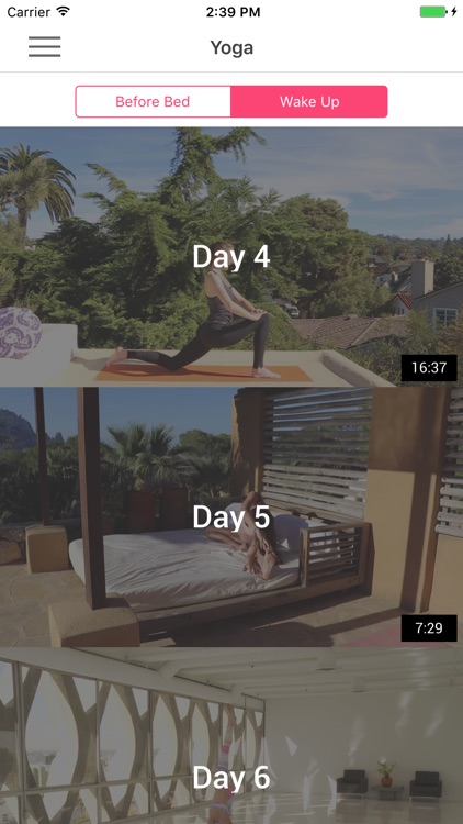 Bedtime Yoga & Morning Yoga in Bed