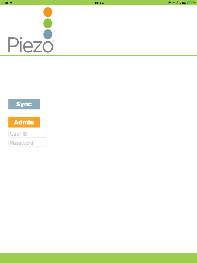‎StepsCount Piezo Screenshot
