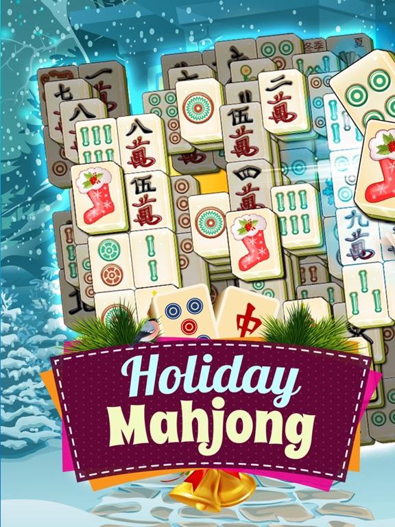 Рождественский Праздник Маджонг - Бесплатные Игры на iPad