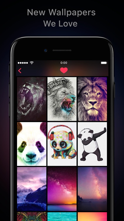Featured of Wallpapers & Cool Backgrounds App screenshot-3