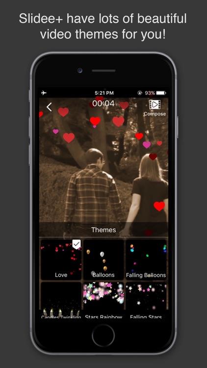 Slidee+ Slideshow Video Maker & Editor with Music screenshot-4