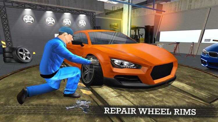 Gas Station Car Mechanic Simulator Game screenshot-4