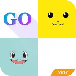 Piano tiles-don't tap for pikachu: white tiles