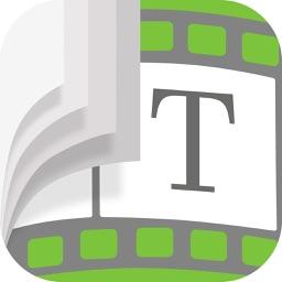Text on Video Editor, Presentation SlideShow Maker
