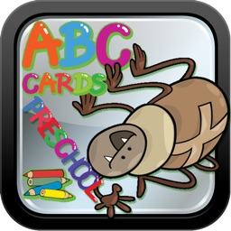 ABC Animals Cards and Coloring Books