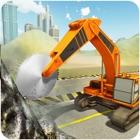 重型挖掘机 - 石材切割机极端责任 icon