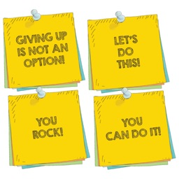 Encouraging Post It Note Stickers