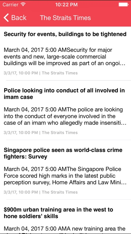 Breaking News - Singapore