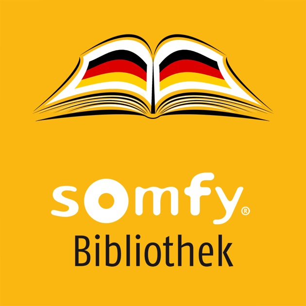 somfy bibliothek deutschland im app store. Black Bedroom Furniture Sets. Home Design Ideas