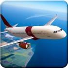 リアル飛行機パイロットシミュレータゲーム - ジャンボジェット着陸、離陸、無料で飛ぶゲーム icon