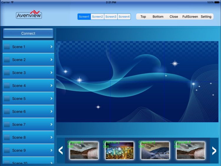 Avenview AVXwall ControlPro