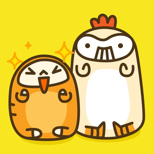Lucky Bread & Tweet Chick - NHH Animated Stickers
