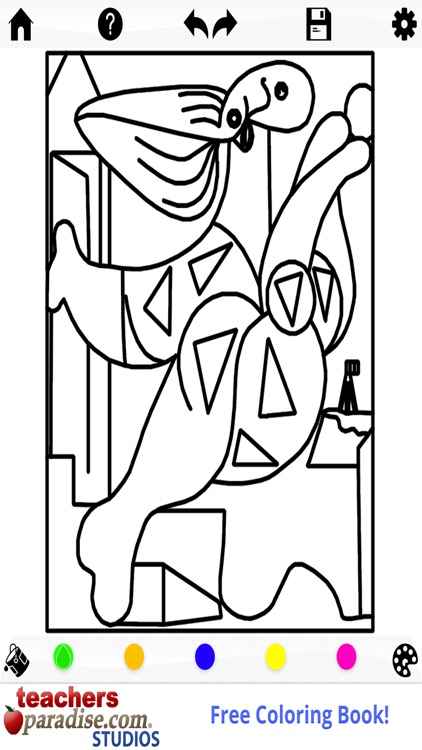 Picasso Coloring: Coloring Book for Adults screenshot-3