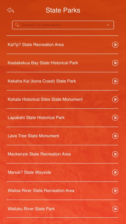 Hawaii State Parks & Trails screenshot-2