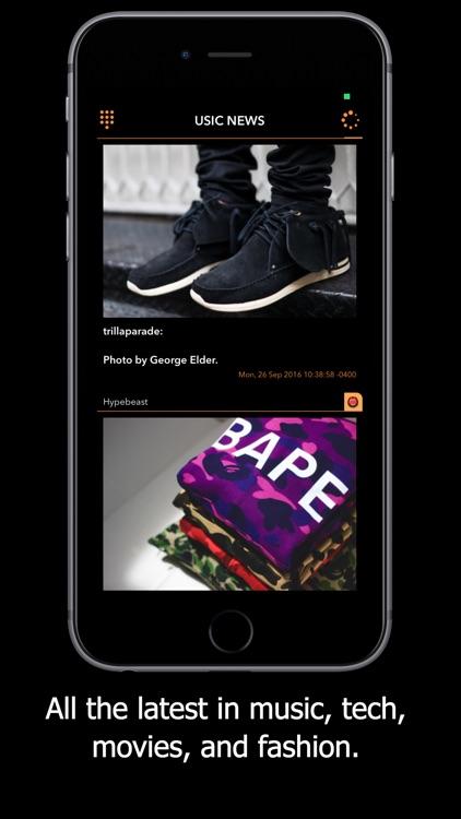 U News - Music & Tech RSS App