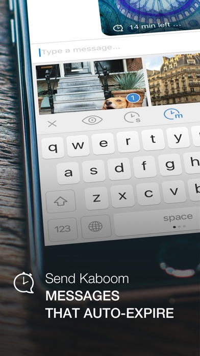SecureKeyboard — File sharing, custom theme app image