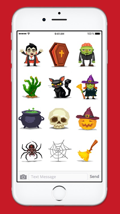 Cute and Scary Halloween Sticker Pack